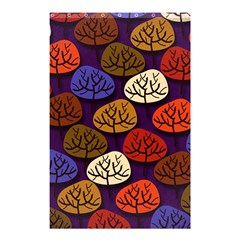 Colorful Trees Background Pattern Shower Curtain 48  x 72  (Small)