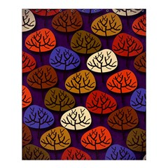 Colorful Trees Background Pattern Shower Curtain 60  X 72  (medium)