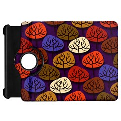 Colorful Trees Background Pattern Kindle Fire Hd 7
