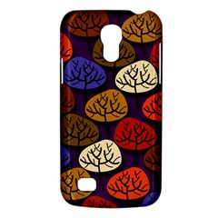 Colorful Trees Background Pattern Galaxy S4 Mini