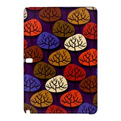 Colorful Trees Background Pattern Samsung Galaxy Tab Pro 10.1 Hardshell Case