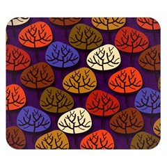 Colorful Trees Background Pattern Double Sided Flano Blanket (small)
