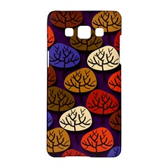 Colorful Trees Background Pattern Samsung Galaxy A5 Hardshell Case