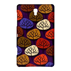 Colorful Trees Background Pattern Samsung Galaxy Tab S (8 4 ) Hardshell Case