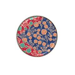 Floral Seamless Pattern Vector Texture Hat Clip Ball Marker (10 pack)