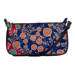 Floral Seamless Pattern Vector Texture Shoulder Clutch Bags