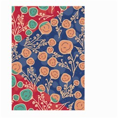 Floral Seamless Pattern Vector Texture Large Garden Flag (Two Sides)