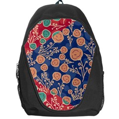 Floral Seamless Pattern Vector Texture Backpack Bag