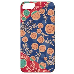 Floral Seamless Pattern Vector Texture Apple Iphone 5 Classic Hardshell Case