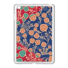 Floral Seamless Pattern Vector Texture Apple iPad Mini Case (White)