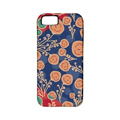 Floral Seamless Pattern Vector Texture Apple iPhone 5 Classic Hardshell Case (PC+Silicone)