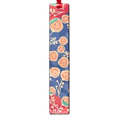 Floral Seamless Pattern Vector Texture Large Book Marks