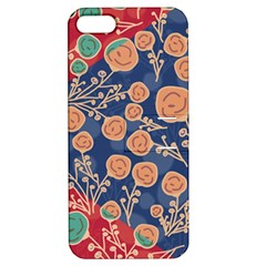Floral Seamless Pattern Vector Texture Apple Iphone 5 Hardshell Case With Stand