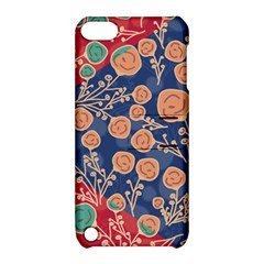 Floral Seamless Pattern Vector Texture Apple Ipod Touch 5 Hardshell Case With Stand