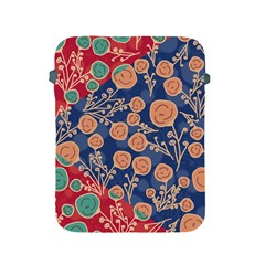 Floral Seamless Pattern Vector Texture Apple iPad 2/3/4 Protective Soft Cases