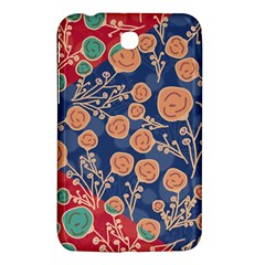 Floral Seamless Pattern Vector Texture Samsung Galaxy Tab 3 (7 ) P3200 Hardshell Case