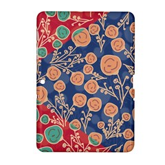 Floral Seamless Pattern Vector Texture Samsung Galaxy Tab 2 (10 1 ) P5100 Hardshell Case