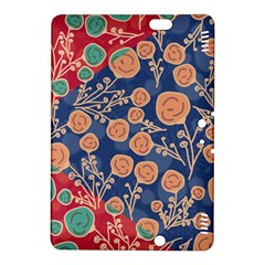 Floral Seamless Pattern Vector Texture Kindle Fire Hdx 8 9  Hardshell Case