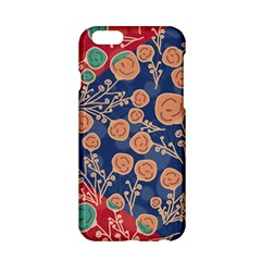 Floral Seamless Pattern Vector Texture Apple Iphone 6/6s Hardshell Case