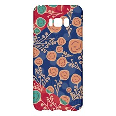 Floral Seamless Pattern Vector Texture Samsung Galaxy S8 Plus Hardshell Case