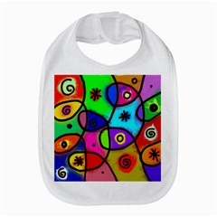 Digitally Painted Colourful Abstract Whimsical Shape Pattern Amazon Fire Phone