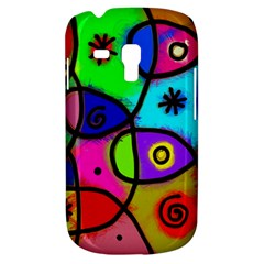 Digitally Painted Colourful Abstract Whimsical Shape Pattern Galaxy S3 Mini
