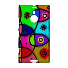 Digitally Painted Colourful Abstract Whimsical Shape Pattern Nokia Lumia 1520