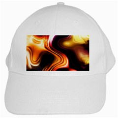 Colourful Abstract Background Design White Cap