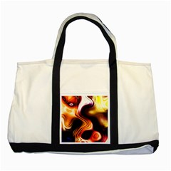 Colourful Abstract Background Design Two Tone Tote Bag