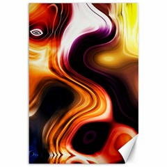 Colourful Abstract Background Design Canvas 12  x 18
