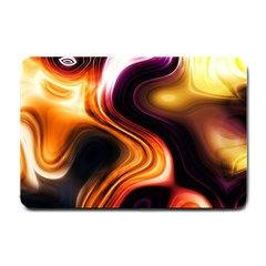 Colourful Abstract Background Design Small Doormat