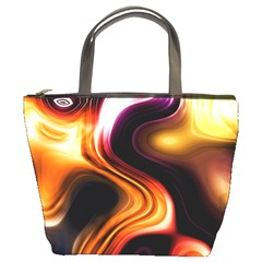 Colourful Abstract Background Design Bucket Bags
