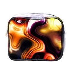 Colourful Abstract Background Design Mini Toiletries Bags