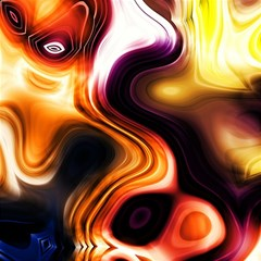 Colourful Abstract Background Design Magic Photo Cubes