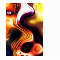 Colourful Abstract Background Design Large Garden Flag (two Sides)
