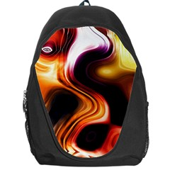 Colourful Abstract Background Design Backpack Bag