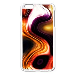 Colourful Abstract Background Design Apple iPhone 6 Plus/6S Plus Enamel White Case