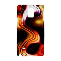 Colourful Abstract Background Design Samsung Galaxy Note 4 Hardshell Case