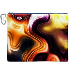 Colourful Abstract Background Design Canvas Cosmetic Bag (XXXL)
