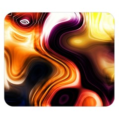 Colourful Abstract Background Design Double Sided Flano Blanket (Small)