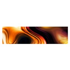 Colourful Abstract Background Design Satin Scarf (Oblong)