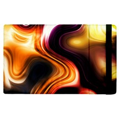 Colourful Abstract Background Design Apple Ipad Pro 12 9   Flip Case