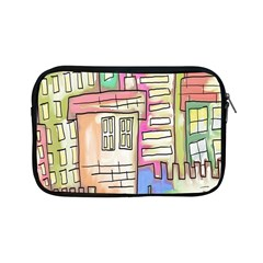 A Village Drawn In A Doodle Style Apple iPad Mini Zipper Cases