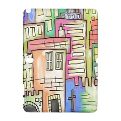 A Village Drawn In A Doodle Style Galaxy Note 1