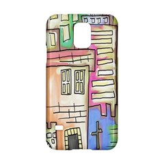 A Village Drawn In A Doodle Style Samsung Galaxy S5 Hardshell Case