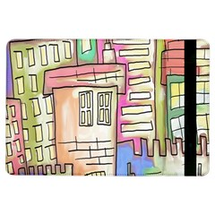 A Village Drawn In A Doodle Style Ipad Air Flip