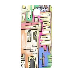 A Village Drawn In A Doodle Style Samsung Galaxy Alpha Hardshell Back Case