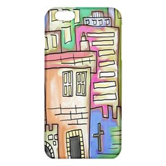 A Village Drawn In A Doodle Style iPhone 6 Plus/6S Plus TPU Case