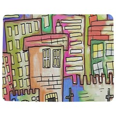 A Village Drawn In A Doodle Style Jigsaw Puzzle Photo Stand (rectangular)