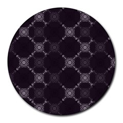 Abstract Seamless Pattern Background Round Mousepads